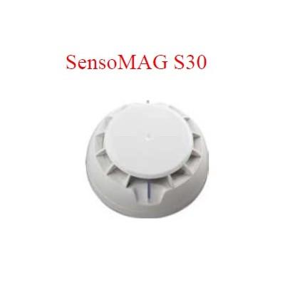 Détecteur optique-fumée S30 INTRUSION (+ socle 12V avec relai)